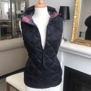 Lululemon Reversible Navy and Plaid Vest